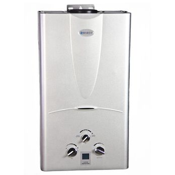 Power Gas Tankless Water Heater with Digital Panel, 10L LPG
