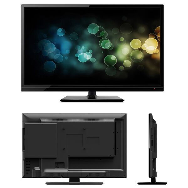 "Majestic 21.5"" Ultra Slim HD LED 12V TV With Multimedia Connections"