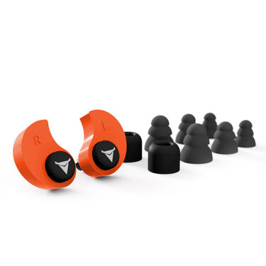 Decibullz Custom Molded Earplugs, Black