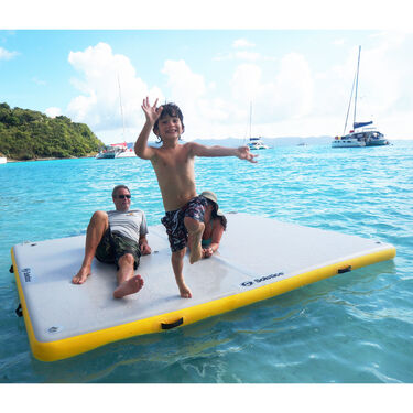 """Solstice Inflatable Floating Dock, 10' x 10' x 6"""""""