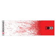 "Bohning Blazer HD 4"" Arrow Wraps, 13-Pack, White Splatter"