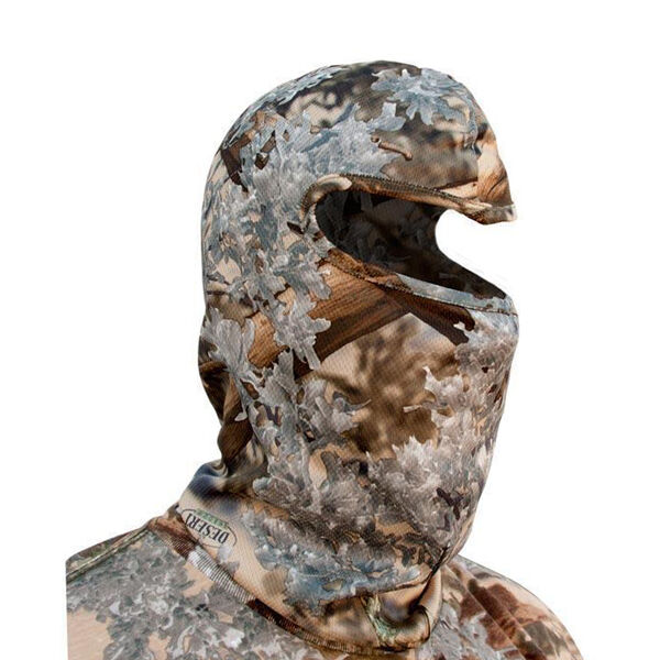 King's Camo Poly Hood Mask