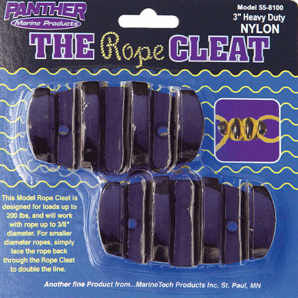 "Panther 3"" Rope Cleats, 2-pack"