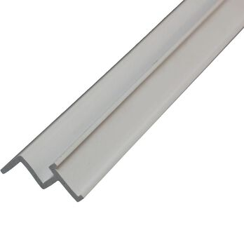"""Ceiling Track for Snap Tape - 96"""" White"""