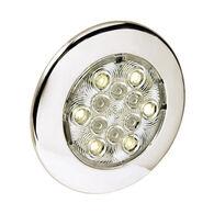 "Attwood 4"" White LED Round Exterior/Interior Light"