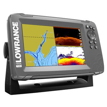 Lowrance HOOK2 7 Fishfinder/Chartplotter w/SplitShot Transducer & US/Canada Nav+