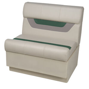 "Toonmate Designer Pontoon 27"" Wide Bench Seat - TOP ONLY"