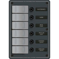 Blue Sea 120V AC Branch Circuit Breaker Panel, Model 8059