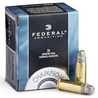 Federal Champion Centerfire Handgun Target Ammo, .32 H&R Magnum, 95-gr., LSWC