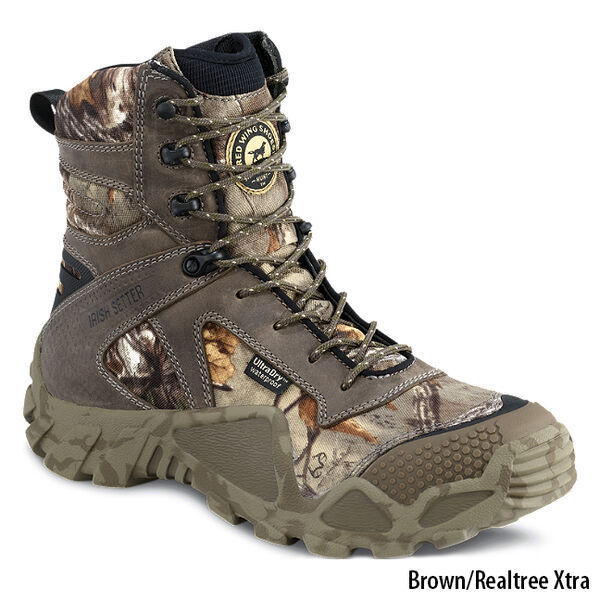 "Irish Setter Men's Vaprtrek 8"" Camo Hunting Boot"