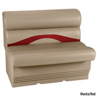 "Toonmate Premium Pontoon 36"" Wide Lounge Seat w/Mocha Base"