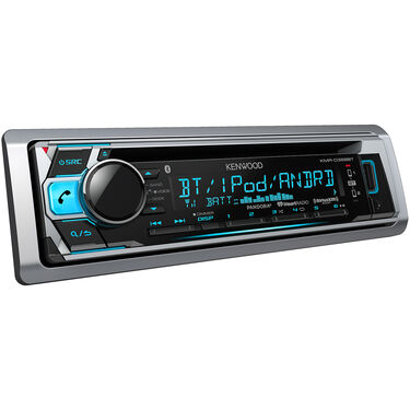 Kenwood KMR-D368BT Marine Bluetooth CD Receiver