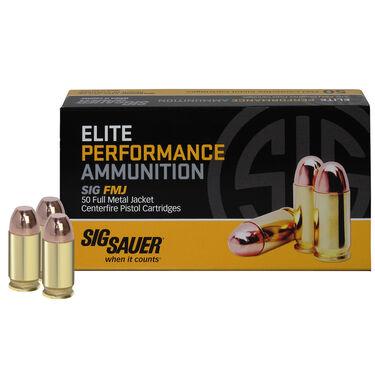 SIG Sauer Elite Performance FMJ Ammo, .380 ACP, 100-gr.