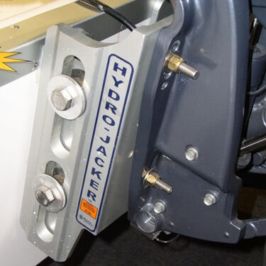 "T-H Marine Hydro-Jacker Hydraulic Jack Plate, 6"" Setback"