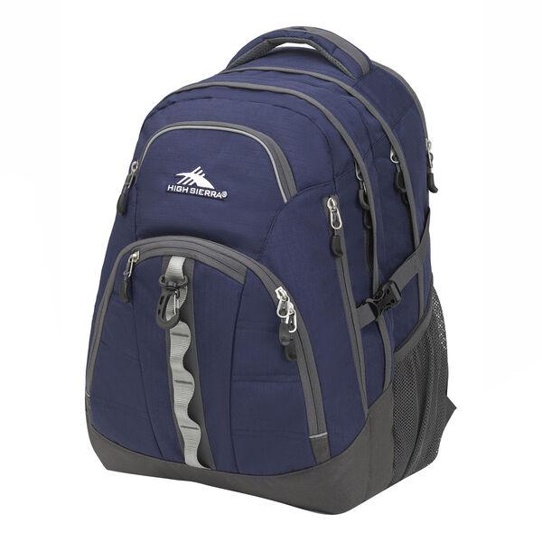 High Sierra Access 2.0 Backpack, True Navy/Mercury