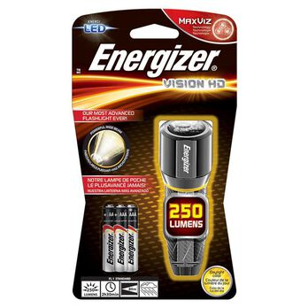 Energizer Vision HD 3AAA Performance Metal LED Flashlight