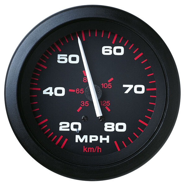"Sierra Amega 3"" Speedometer, 80 MPH"