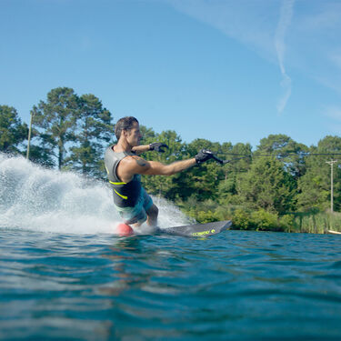 Connelly Carbon V Slalom Waterski With Shadow Binding And Rear Toe Plate