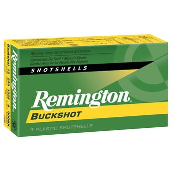 "Remington Express Buckshot, 20-ga., 2-3/4"", 20 Pellets, #3, 5 Rounds"