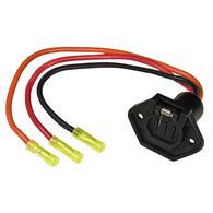 Sierra 10-Gauge Trolling Motor Plug And Socket, Female 3-Prong