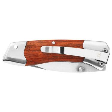 "Winchester 3"" Shaped Wood Folding Knife"