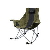 High Sierra Plush Rocking Camp Chair