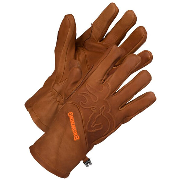 Browning Men's Deer-Hide Shooter's Gloves