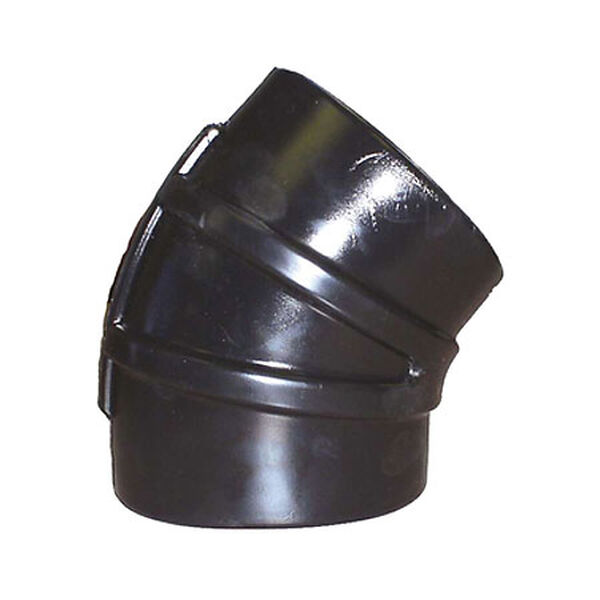 "Sierra 45° Rubber Elbow, 3"" Dia., Sierra Part #116-245-3000"