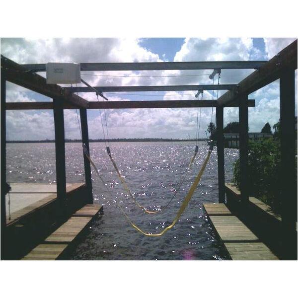 Lunmar Steel-Mount 6,000-lb. Capacity Boat Sling Lift