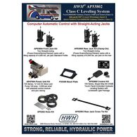 HWH 725 Series Class C Leveling System for Ford E350/E450 Class C