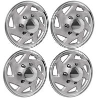 ABS Hubcaps, Set of 4