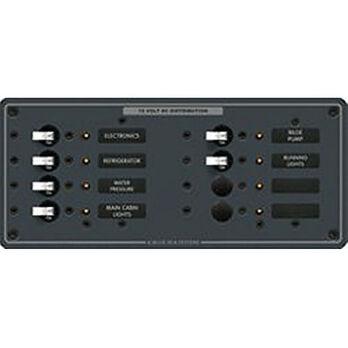 Blue Sea 12/24V DC Branch Circuit Breaker Panel - 8 Positions