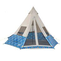 Wenzel Shenanigan 5 Person Tent - Blue
