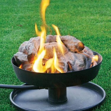 Camco Portable Propane Little Red Campfire