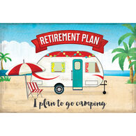 Reversible Placemats, Retirement Plan