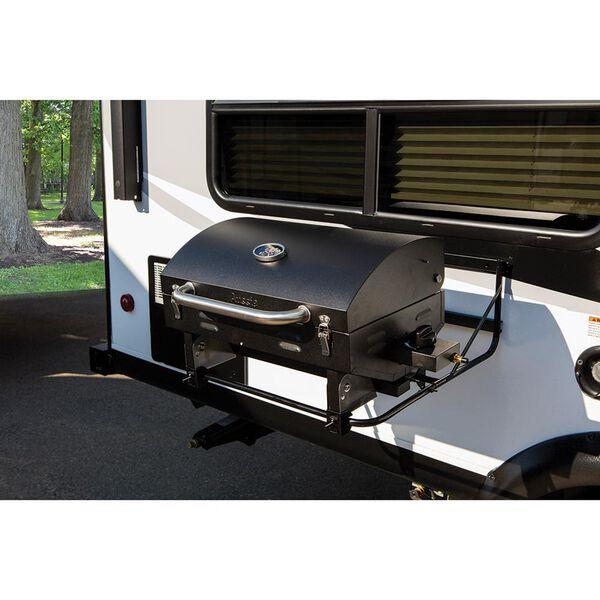 Portable RV Barbeque Grill, Black