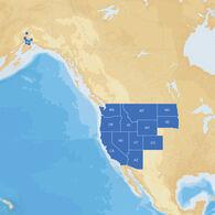 Navionics Hot Maps Platinum Cartography, West