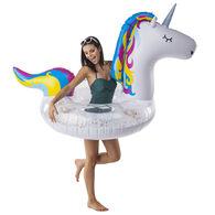 Big Mouth Giant Sparkling Unicorn Pool Float