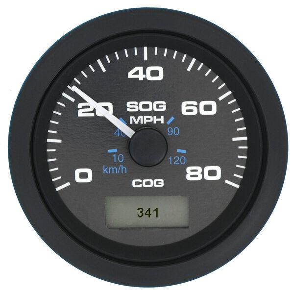 "Sierra Premier Pro 3"" GPS Speedometer With LCD, 80 MPH"