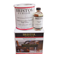 MAS Epoxies Bristol Finish Traditional Amber Urethane, Quart