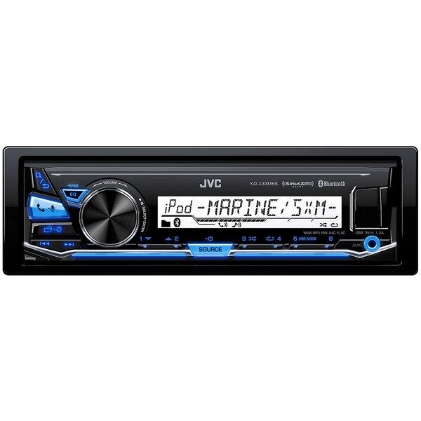 JVC KD-X33MBS Digital Media Receiver With Bluetooth