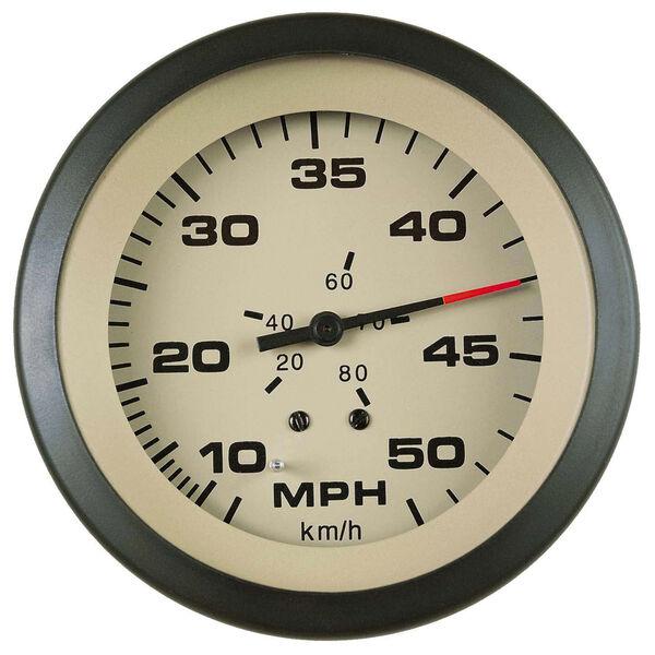 "Sierra Sahara 3"" Speedometer, 50 MPH"