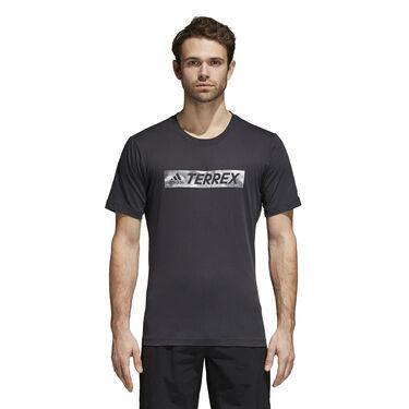 Adidas Men's Logo Bar Short-sleeve Tee