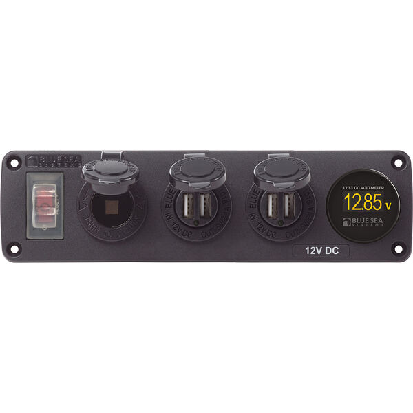 Blue Sea 4368 USB Accessory Panel