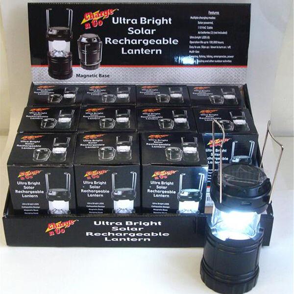Ultra Bright Rechargeable Solar Lantern