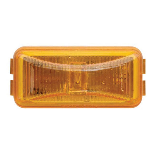 Waterproof LED Fleet Count Sealed Trailer Marker/Clearance Light, Amber