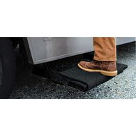 "Premium Wrap Around RV Step Rug, 18"", Black"