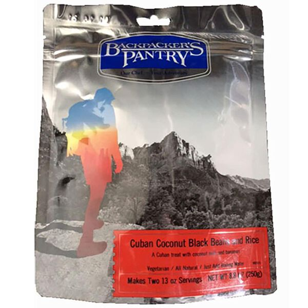 Backpacker's Pantry Cuban Coconut Black Beans & Rice Freeze-Dried Meal