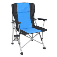 Padded Folding Sports Chair, Blue