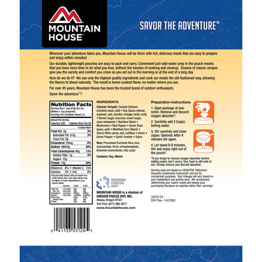 Mountain House Chicken Teriyaki with Rice Freeze-Dried Meal Pouch